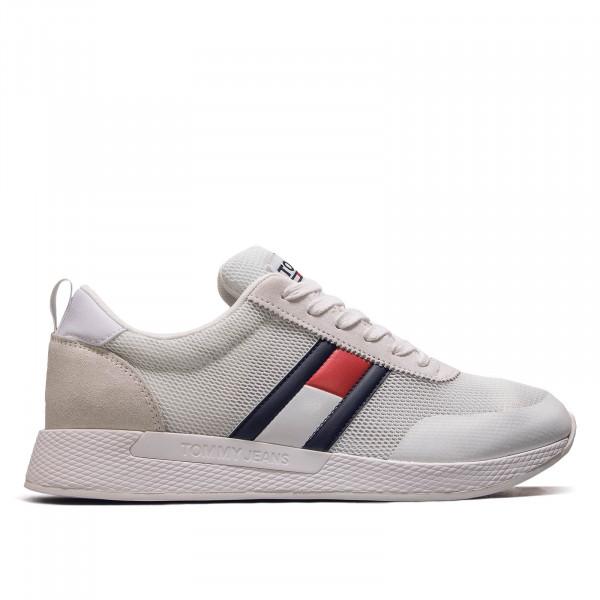 Damen Sneaker Flexi White Navy Red