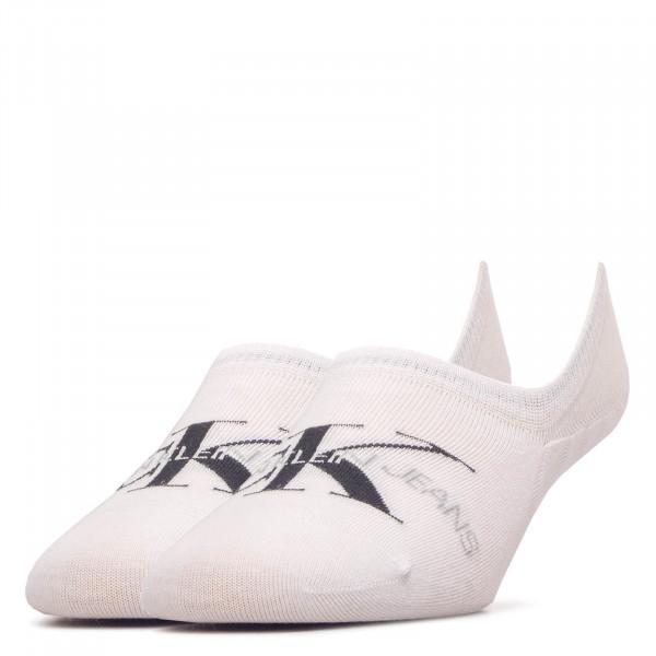 Damen Socken Liner Jeans 1769 White