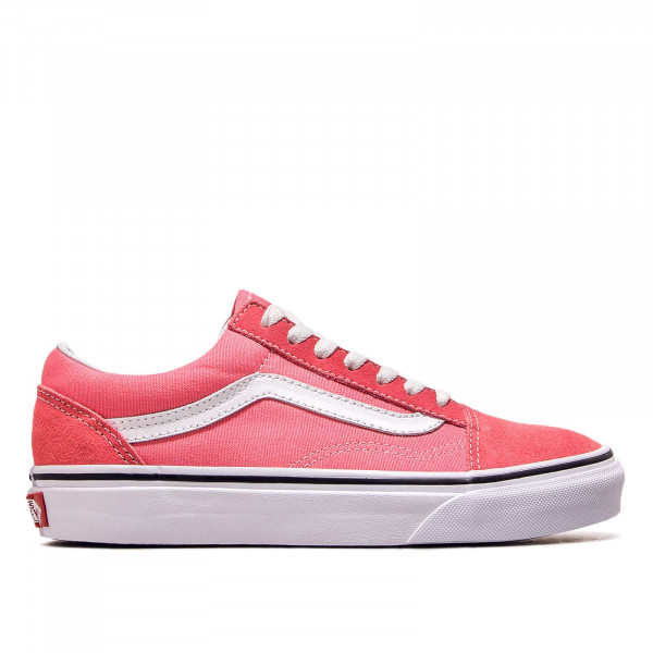 Damen Sneaker Old Skool Strawberry White