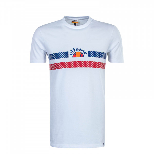 Herren T-Shirt Lori White Blue Red
