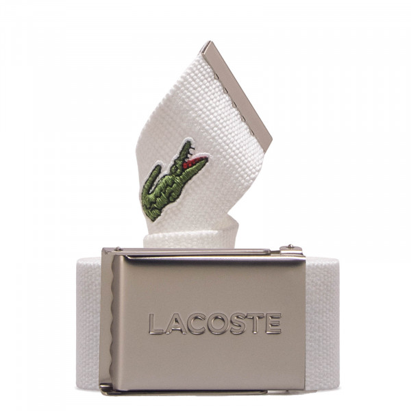 Lacoste Belt RC2012 White