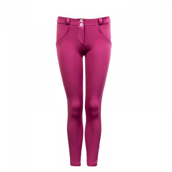 Damen Hose - Pantalone 7/8 WRUP4RC004 P22 - Magenta