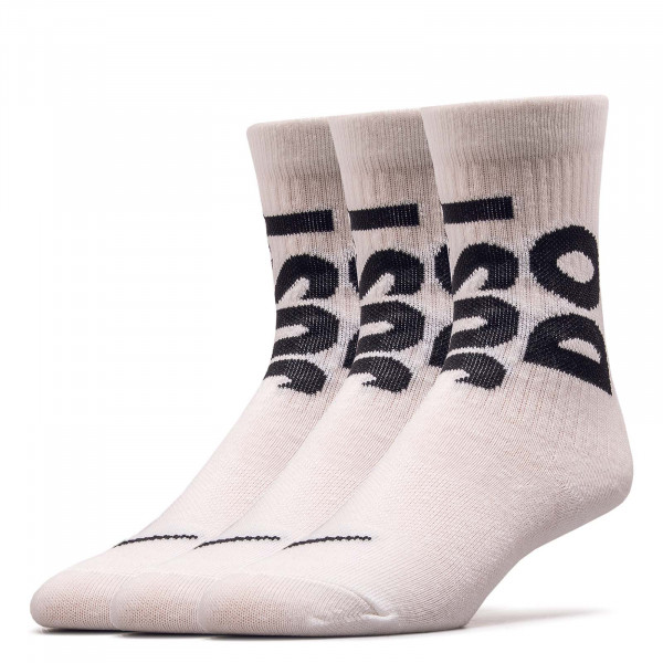 Socken 3er Pack NK NSW Everyday Essen 0539 White