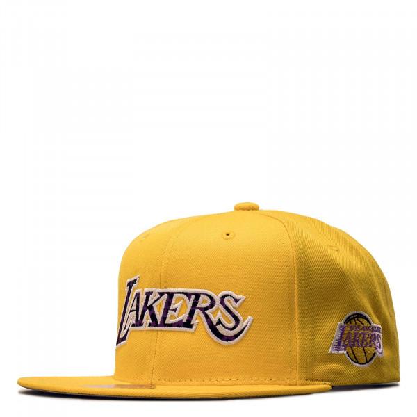 Unisex Cap - Wildback Los Angeles Lakers - Yellow