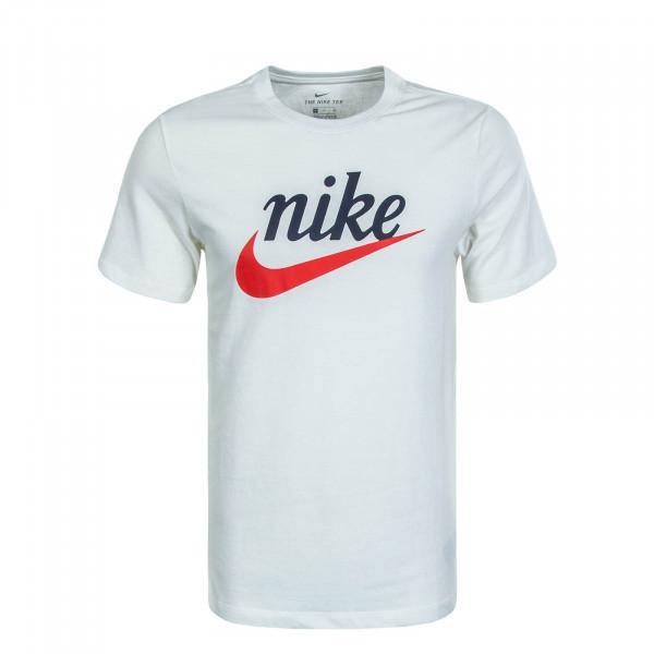 Herren T-Shirt 2381 Beige Navy Red