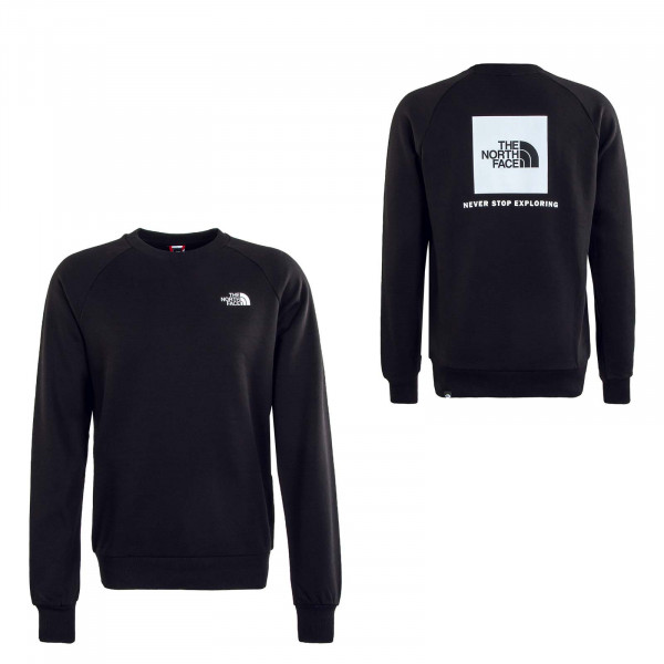 Herren Sweatshirt - Crew Rag Redbox Crew New - Black / White