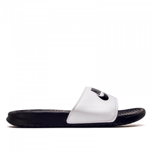 Nike Slide Benassi JDI White Black