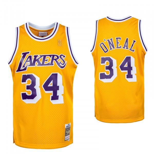 Herren Tank Top - M&N NBA Swingman Jersey LA Lakers - Gold