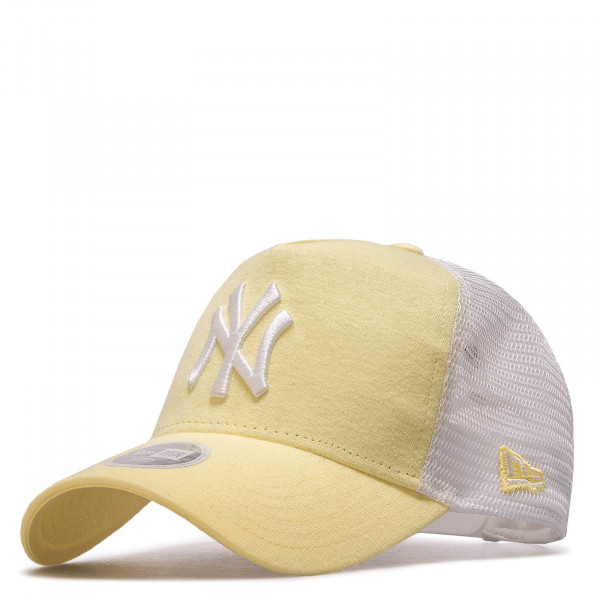 Damen Cap Trucker NY Yellow White