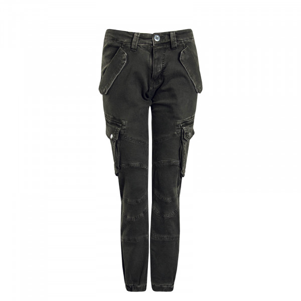 Herren Hose Cargo Pant Combat Grey Black