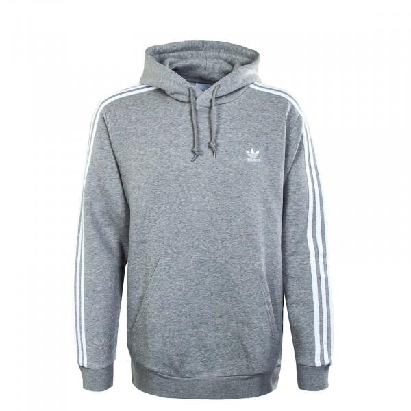 Herren Hoody - 3-Stripes H06675 - Grey