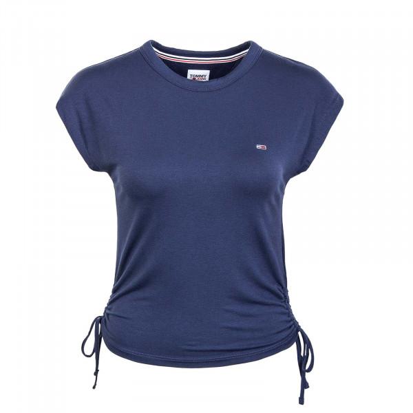 Damen T-Shirt - Regular Side Knot Tee 9776 - Twilight / Navy