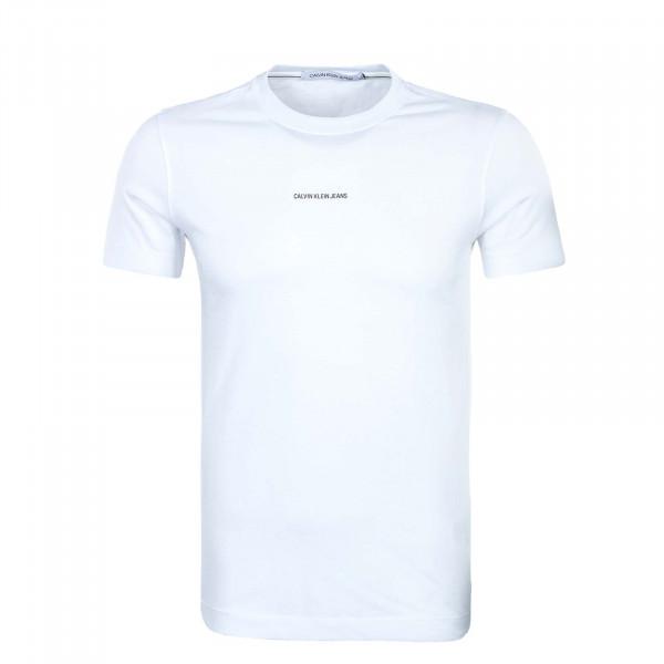 Herren T-Shirt - Micro Branding Essen -  White