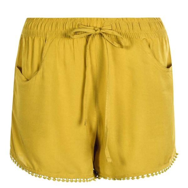 Damen Short 61531KD Dark Yellow