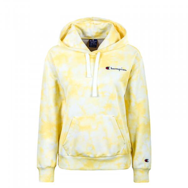 Damen Hoody - Crewneck 113934 - White / All / Yellow