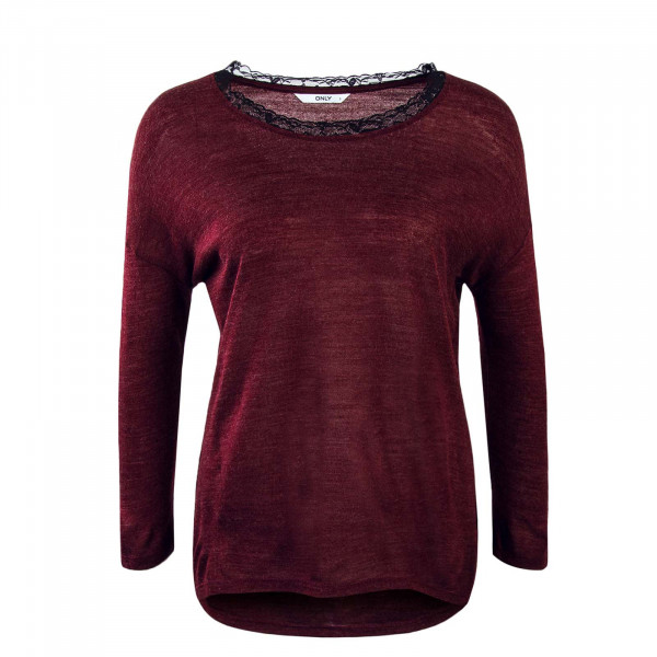 Damen Longsleeve Mika Planet Bordeaux