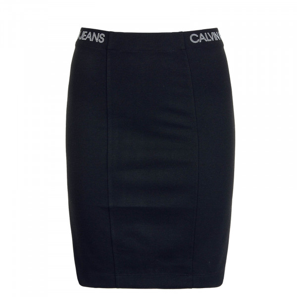 Skirt Outline Logo Milano Black