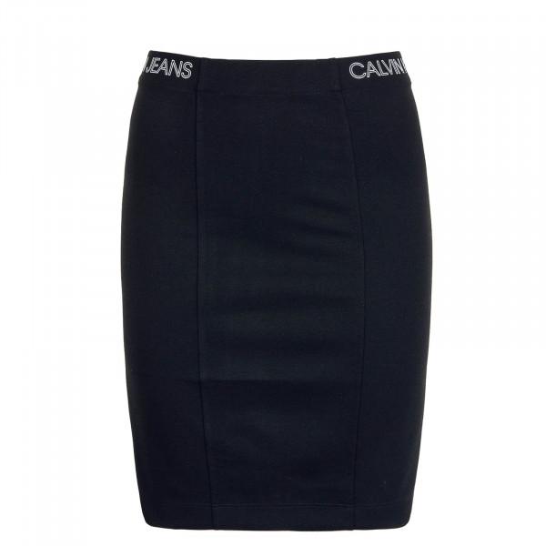 Skirt Outline Logo Milano Black