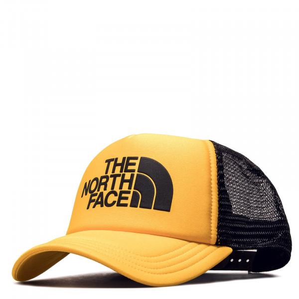 Cap Logo Trucker Gold Black