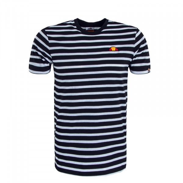 Herren T-Shirt Sailio Stripe Black White