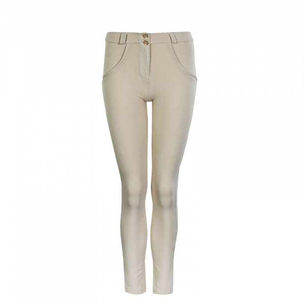 Damen Hose WR.UP® - Regular Waist Skinny - Beige - N0