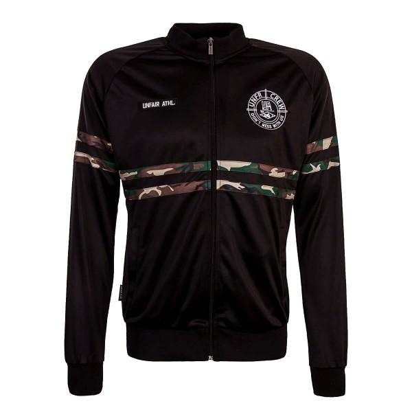 Herren Trainingsjacke DMWU Black Camouflage
