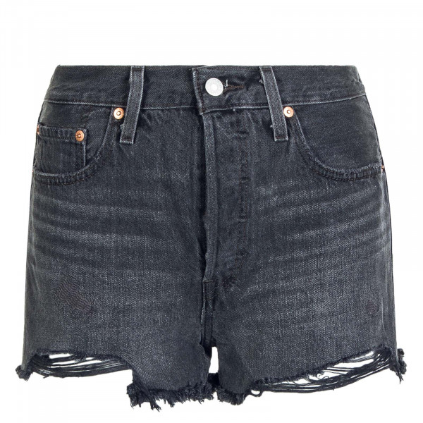 Damen Shorts 501 Original Eat Your Words Black
