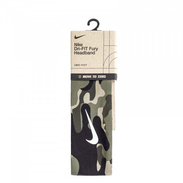 Haarband - 3.0 Medium - Olive / White