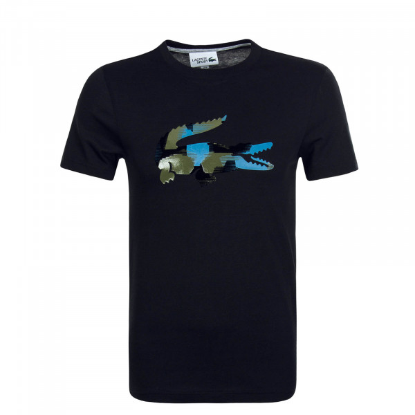 Herren T-Shirt TH8449 Black Green Blue
