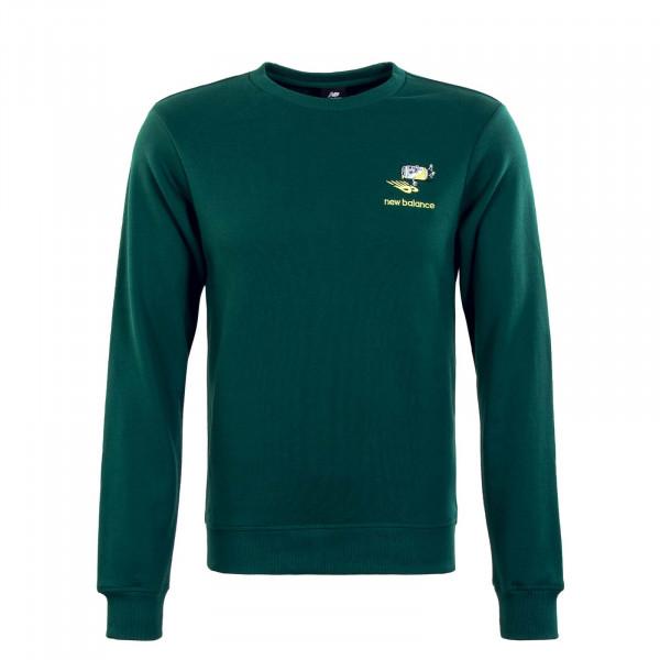 Herren Sweatshirt - Ath Minmz Crew NWG - Green