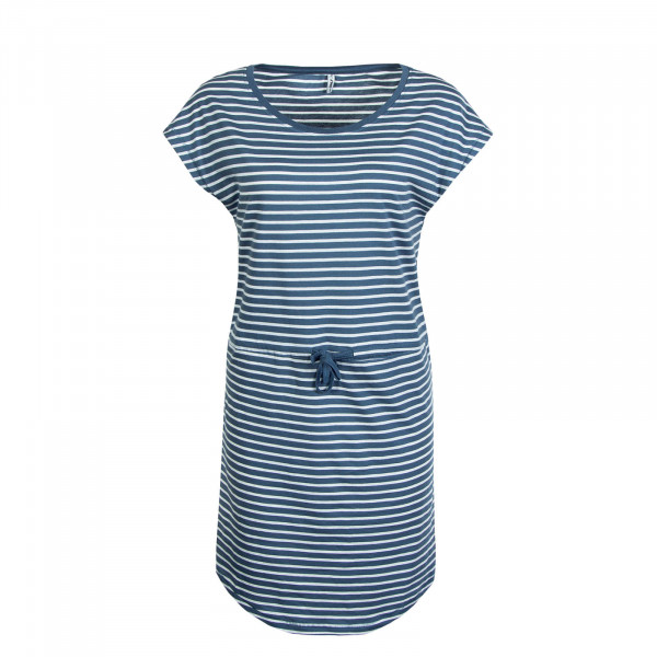 Kleid May Stripe Blue White