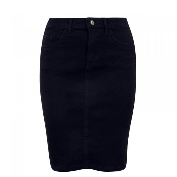 Skirt Kiss High Denim Black