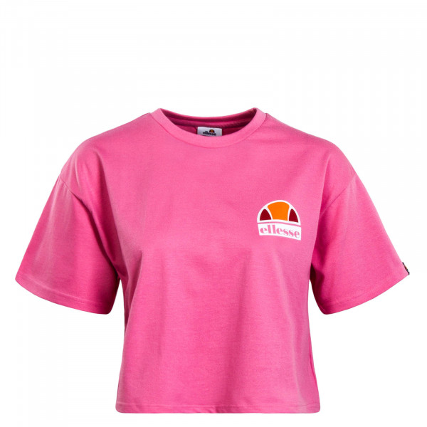 Damen Crop T-Shirt Manila Pink