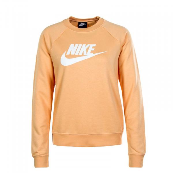 Damen Sweatshirt Essential Crewc Flc Orange