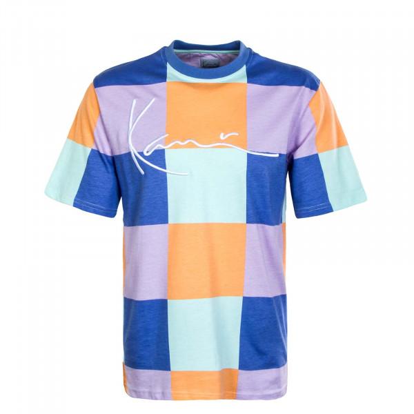 Herren T-Shirt - Small Signature Block - Multicolor