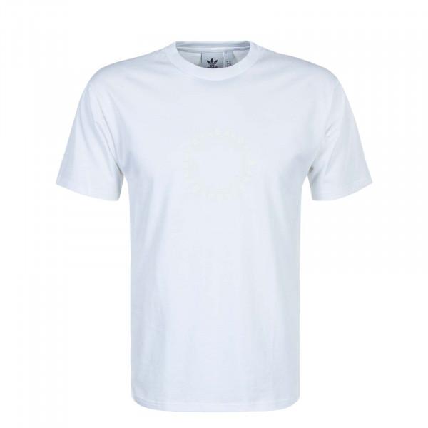 Herren T-Shirt Pinwheel White