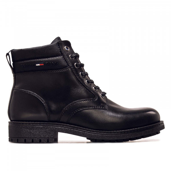 Herren Boots - Classic Short Lace Up - Black