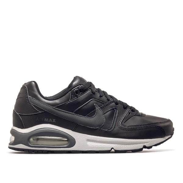 Herren Sneaker Air Max Command Leather Black Grey