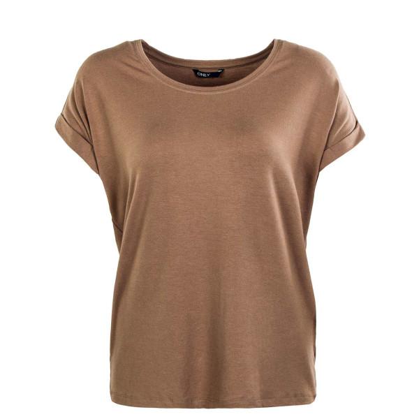 Damen T-Shirt - Moster O Neck - Brownie