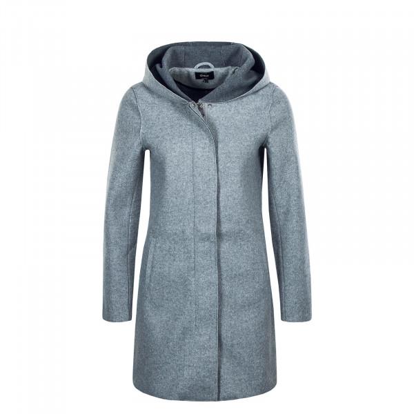 Damen Mantel - Siri Bonded - Light Grey