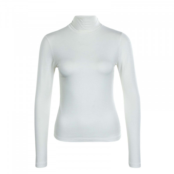 Damen Longsleeve Lela Life Rollneck Cloud Dancer