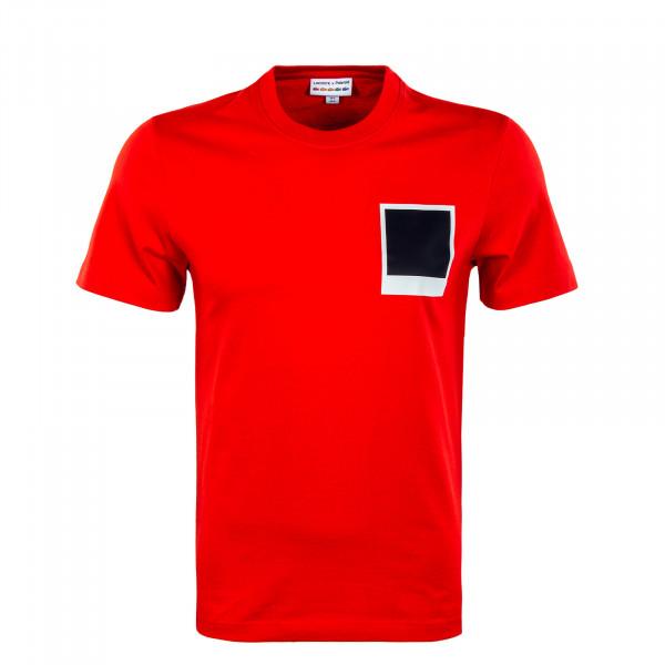 Herren T-Shirt - Lacoste x Polaroid - Corrida
