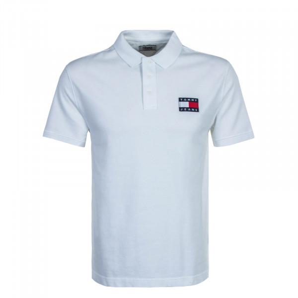 Herren Poloshirt Badge 7456 White