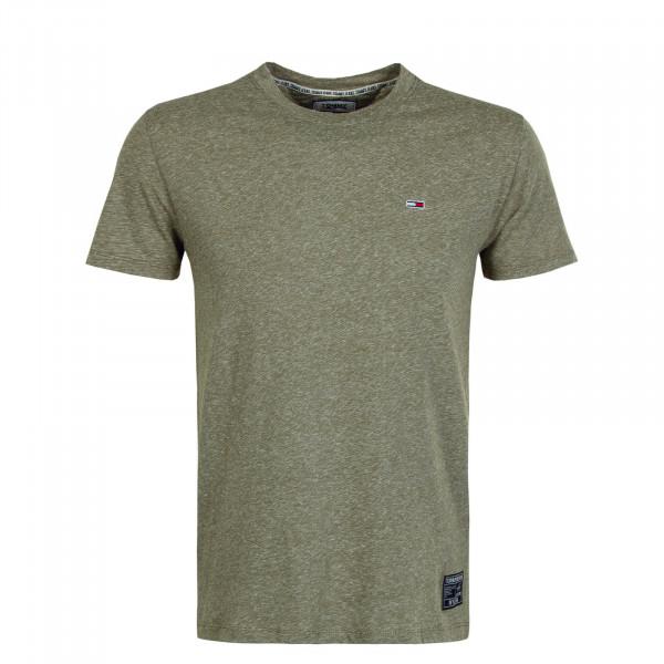Herren T-Shirt 7809 Slub Uniform Olive