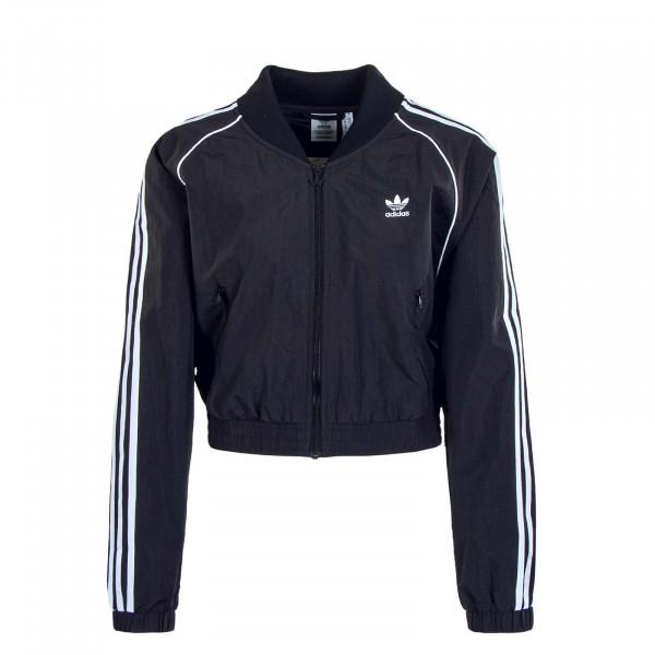 Damen Jacke - Short Tracktop 2791 - Black / White