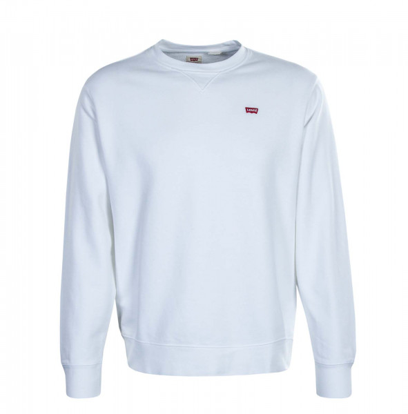 Herren Sweatshirt Crew New Orginal White