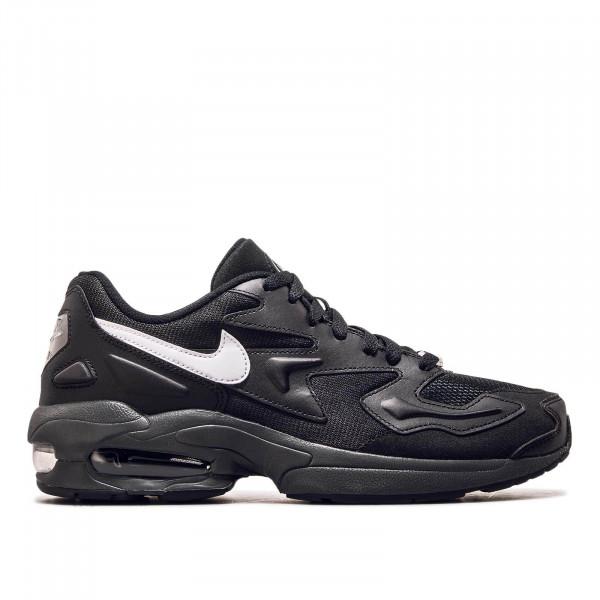 Herren Sneaker Air Max 2 Light Black White