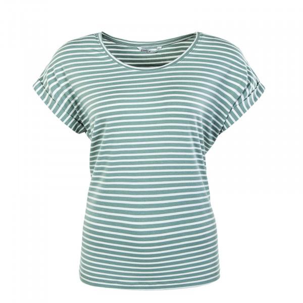 Damen Shirt - Onlmoster Stripe - Jadeite Cloud