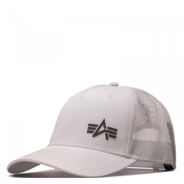 Basecap - Trucker Cap Small Logo - White