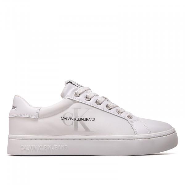 Damen Sneaker - Cupsole Sneaker Laceup Pu-NY Bright - White
